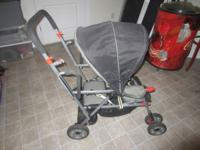 We have for sale a Tandem Joovy Caboose stroller, great