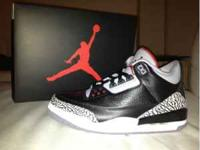 I have 2 pairs of Jordan retro 3 that just released on