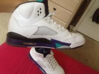 I have a pair of grade school size 5 1/2 Jordan 5
