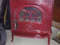 I have a Jotul American Fireplace Stove # 8 in Red