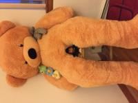 Enormous size (6.5 Ft) fully stuffed, soft, adorable