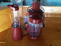 juicer and mini mixer. Juicer has actually just been