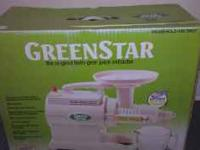 Greenstar juicer GS 1000 model it is new as not been