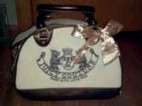 Authentic Juicy Couture Pet Carrier. This carrier is