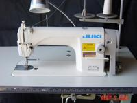 almost new Junki sewing machine works perfect no