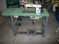 Model DDL-5550, Comes with Table and Motor. This is a