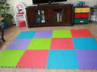 I have reversible interlocking foam play mats 2 x 2 (4