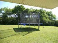 I have a jump king square trampoline for sale. it is in