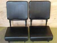 Here are a pair of folding jump seats that I recently