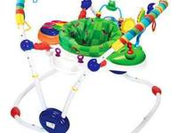 This is a lightly used Baby Einstein activity jumper