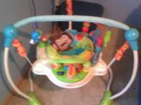 Like new bouncer my son was to little for this when I