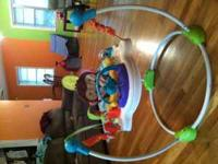 Very good condition jumperoo. Clean and smoke/pet free
