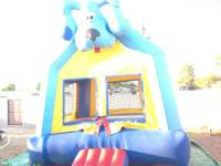 Jumping castle rental $60 for 13x13 castle, and 14x14