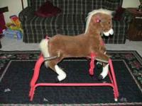 Jumping Horse, Good Condition, Sells for $80.00 Asking