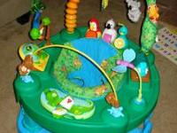 Jungle exersaucer. Good condition. Have every thing