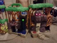 Jungle Treehouse with working lights and sounds. It