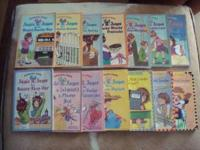 For sale is a collection of Junie B Jones books for