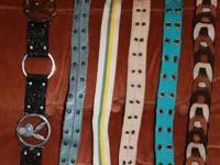 Junior Belts (Size Sm-M) All very nice and in pretty