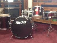I have a 6 piece junior drum set by First Act with a