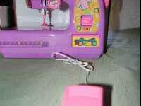 junior electric/battery operated sewing machine.