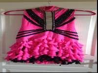 Junior Girls Latin Ballroom Dress size small. Just worn