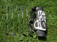 RAM junior golf club set.  Driver, 4 wood, mid iron,