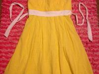 Junior Girl's - Strapless Dress  Brand: Sequin Hearts