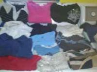 I have 26 shirts that range from size small, medium and