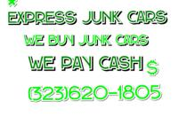Get Cash!for your junk car Let us help you! We can help
