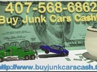 Give us a call to sell your car for cash! Junk Cars FL
