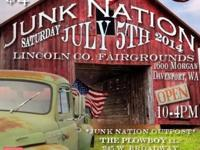 Junk Nation Show,. car * vintage * trailer. Lincoln