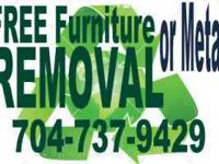 Sam's JUNK Recyclers Unwanted FURNITURE / METAL /