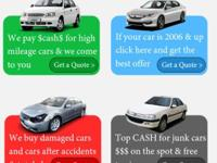 We Buy 2002 to 2015 used cars! The fastest way for busy