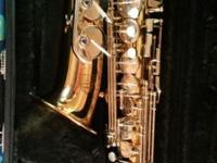 I have an almost new Alto Saxaphone for sale. My