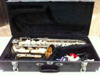 Jupiter Alto Saxophone Model 667GN Includes hard case,