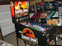 This is a great condition Jurassic Park pinball machine