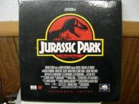 Jurrasic park laser disc. Call if interested or have