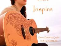 New Luna Henna Paradise Acoustic/Electic Guitar for