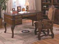 A traditional desk is a great addition to the home or