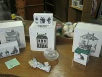 We just got in several Dept 56 Collectible pieces.