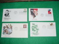 Just In hundreds of US First Day Covers 1960s-80s