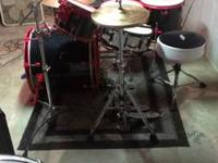 I have a nice 5 piece Ddrum drumset. It has a 22x26