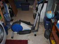 I bought this Elliptical Machine at Walmart for $200+