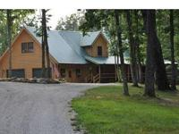 A beautiful,custom, log home,on the Cumberland Plateau