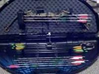 Perfect condition Parker Stealth compound bow never