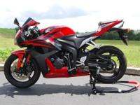 This Honda CBR600RR is box stock and just lovely. It