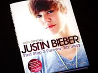 "I have a brand new Justin Bieber ""first step 2 forever:"