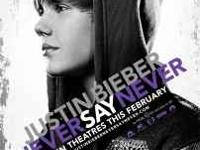 Justin Bieber Movie for sale. Call Dave or Joanne for