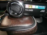 Have a once used JVC HD 40x Video Camera. Have cables