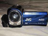 For sale: Like new JVC Hard disk Camcorder with 2